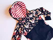 Detské oblečenie - Detská mikina Sliepocka - 11371861_