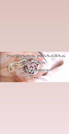 Darčekové poukážky - Darčeková poukážka - 11370379_