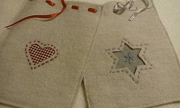 Úžitkový textil - mikulášske vrecko - 11373053_