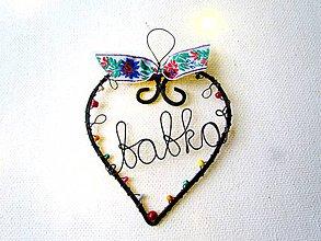 Dekorácie - babka - 11370315_