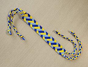 Náramky - Pletený koberec - pletený náramok - 11370507_