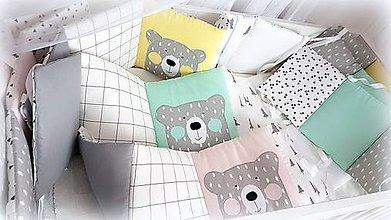 Textil - Mantinel Nordic po celom obvode 25/30x360cm - 11376964_