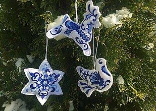 Dekorácie - Sada vianočných ozdôb - 11375405_
