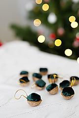 Dekorácie - Sada orieškov na vianočný stromček - 11375681_