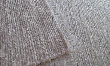 Úžitkový textil - Bavlnený koberček - 11374528_
