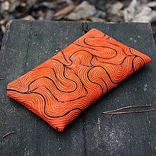 Taštičky - Oranžová - taštička - 11375150_