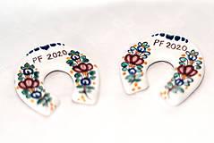 Magnetky - Výrobky s príbehom - podkovička magnet - 11375327_