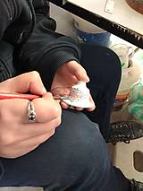 Magnetky - Výrobky s príbehom - podkovička magnet - 11375330_
