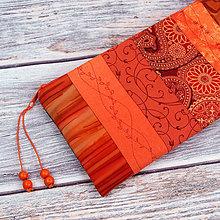 Taštičky - Taštička - 50 odstínů oranžové :) - 11374541_