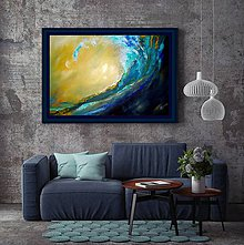 Obrazy - Ranný oceán - 11377392_
