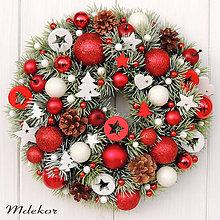 Dekorácie - Vianočný veniec - 11376199_