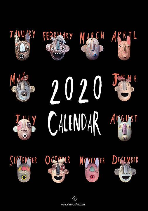 Kalendár Frikou 2020