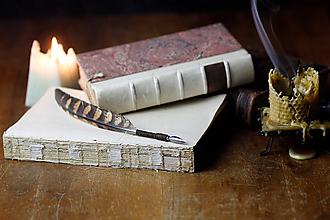 Drobnosti - pierko na pisanie - brko na pisanie - 11376094_