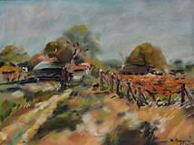 Obrazy - Jeseň vo vinohradoch - 11375207_
