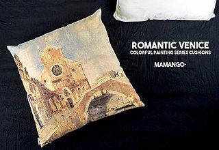 Úžitkový textil - Dekoračný vankúš - BENÁTKY - 11376648_
