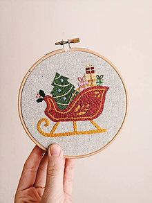 Obrázky - Vianočné sane - 11376239_