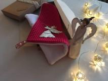 Úžitkový textil - Giving Tuesday - uteráčik pre ... (farba cyklámenová pre Vanessku) - 11376432_