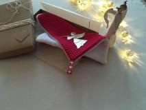 Úžitkový textil - Giving Tuesday - uteráčik pre ... (farba cyklámenová pre Vanessku) - 11376433_