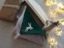 Úžitkový textil - Giving Tuesday - uteráčik pre ... (farba tmavozelená pre Dominika) - 11376500_