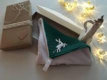 Úžitkový textil - Giving Tuesday - uteráčik pre ... (farba tmavozelená pre Dominika) - 11376501_