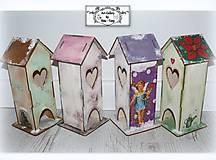 Krabičky na čajové vrecúska :) AKCIA