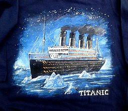 Detské oblečenie - tričko Titanic č. 3 - 11376750_