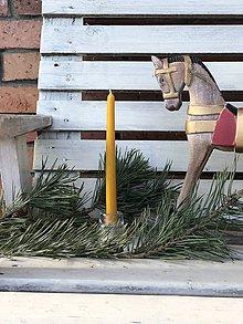 Svietidlá a sviečky - Konická vysoká sviečka - 11375084_