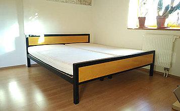 Nábytok - Manželská posteľ - 11374708_
