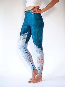 Nohavice - Yoga Leggings HAPPY LAKE - 11377281_