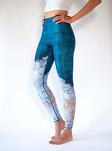 Nohavice - Yoga Leggings HAPPY LAKE - 11377281_