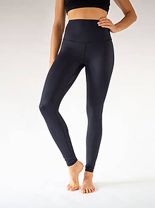 Nohavice - Extra dlhé Yoga Leggings BLACK FLAMINGO - 11377548_