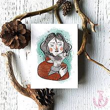 Nezaradené - Pohľadnica- zima - 11375950_