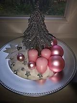 Dekorácie - Vianočný tanier - 11377663_