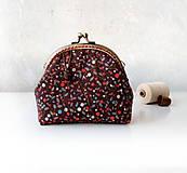 Peňaženky - Peňaženka XL Malé lesné plody - 11375890_