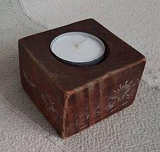 Svietidlá a sviečky - na čajovú - 11375506_