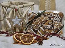 Dekorácie - Medovníčky - 11380882_