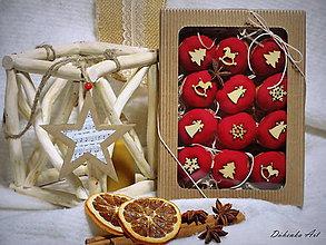 Dekorácie - Závesná dekorácia - oriešky - 11381001_