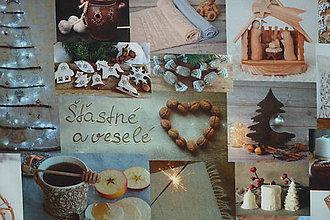 Textil - Látka Slovenské Vianoce - 11378161_