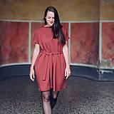 Šaty - Šaty Cinnamon Oversize - 11380984_