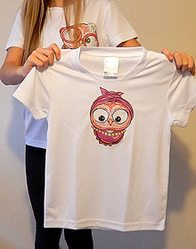 Detské oblečenie - Detské tričko - OčiPuči Cukrová Kaika - 11380443_