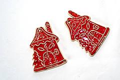 Dekorácie - Výrobky s príbehom - Vianočná ozdôbka - domček - 11380048_