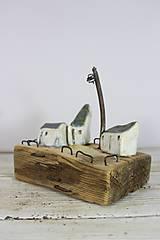 Dekorácie - kameninové domčeky 1 - 11380096_