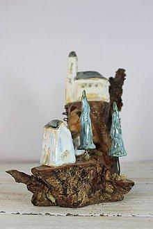 Dekorácie - kameninové domčeky - 11380379_