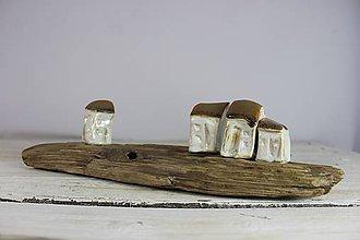 Dekorácie - keramické domčeky 6 - 11380446_