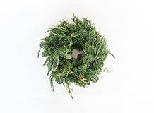 Dekorácie - Vianočný veniec z čečiny na dotvorenie - 11381765_