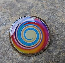 Odznaky/Brošne - brož kruhy - 11379849_