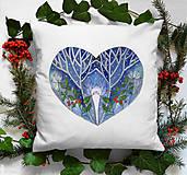 Úžitkový textil - Vankúš zimný - 11379034_