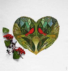 """Úžitkový textil - Maľovaný rozprávkový letný vankúš (návliečka) """"zo srdca darované"""" - 11379005_"""