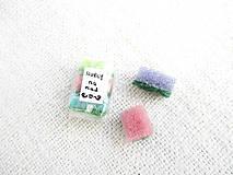 Hračky - Mini hubky na riad - balíček 3 kusy - 11380052_