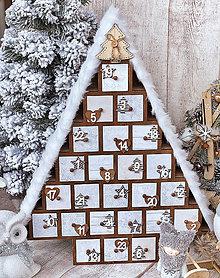 Dekorácie - Adventný kalendár - 11378525_